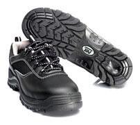 F0008-902-09 Veiligheidsschoenen, laag - zwart