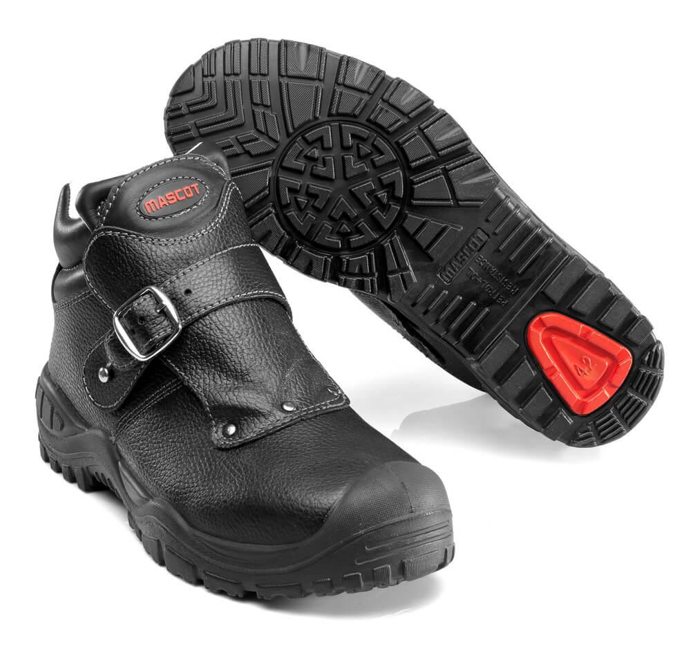 F0072-911-09 Veiligheidsschoenen (hoog) - zwart