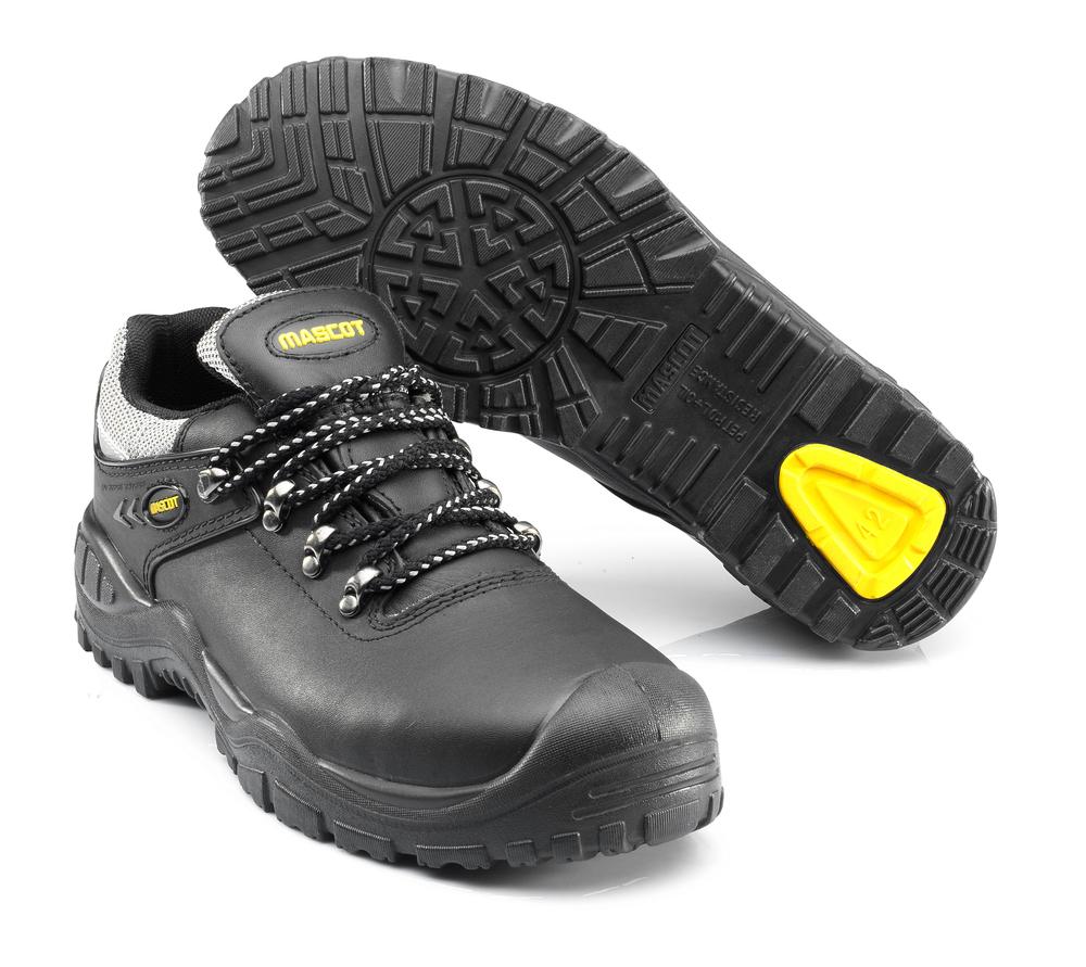 F0073-902-0907 Veiligheidsschoenen, laag - zwart/geel