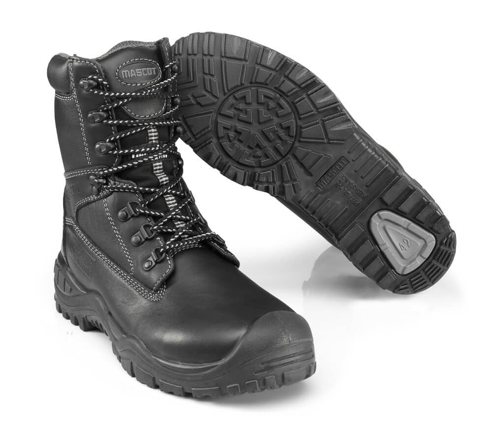 F0084-902-09 Veiligheidsschoenen (hoog) - zwart