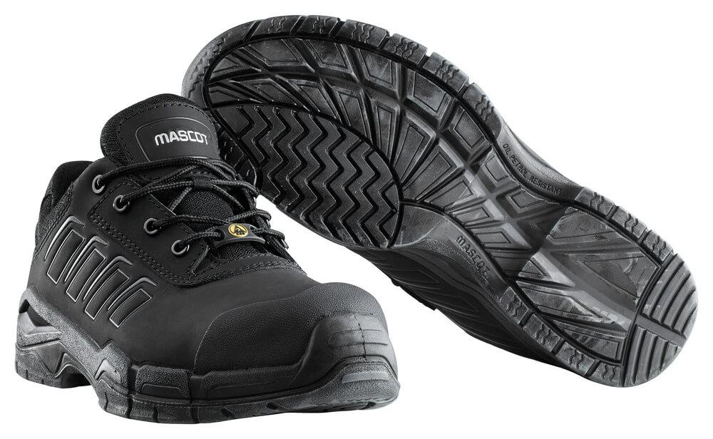 F0113-937-09 Veiligheidsschoenen (laag) - zwart