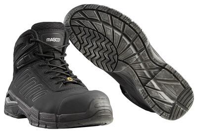 F0114-937-09 Veiligheidslaarzen - zwart
