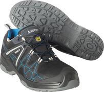 F0123-772-0911 Veiligheidsschoenen, laag - zwart/korenblauw