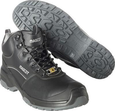 F0128-775-09 Veiligheidsschoenen, hoog - zwart