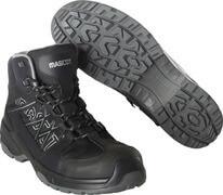 F0129-947-09 Veiligheidsschoenen (hoog) - zwart