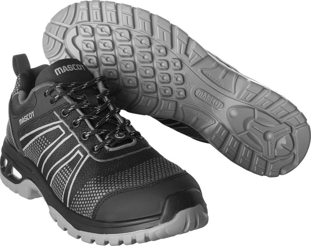 F0130-849-09888 Veiligheidsschoenen (laag) - zwart/antraciet