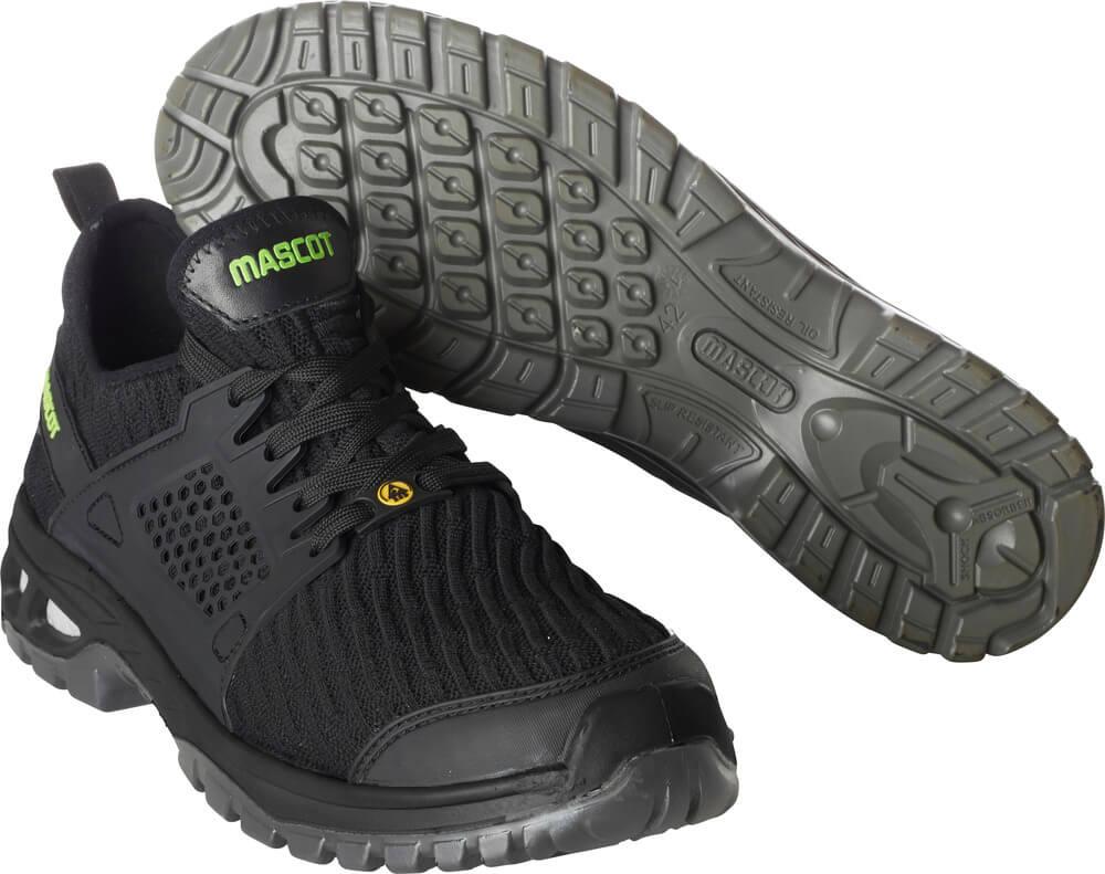 F0132-996-09 Veiligheidsschoenen (laag) - zwart