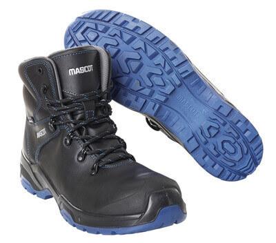 F0141-902-0901 Veiligheidslaarzen - zwart/korenblauw