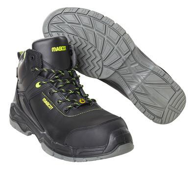 F0143-902-09 Veiligheidsschoenen, hoog - zwart