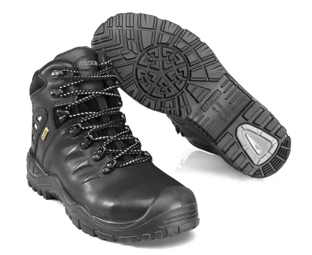 F0169-902-09 Veiligheidsschoenen (hoog) - zwart