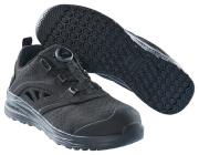 F0252-909-0909 Veiligheidssandalen - zwart/zwart