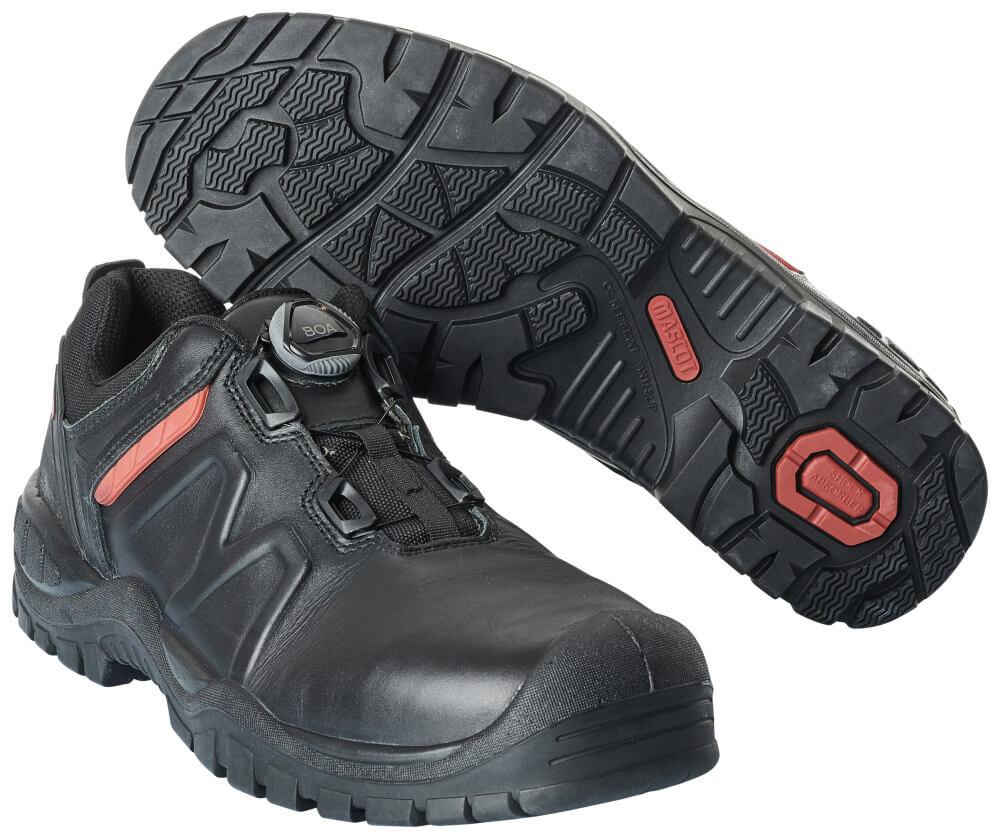 F0451-902-09 Veiligheidsschoenen (laag) - zwart