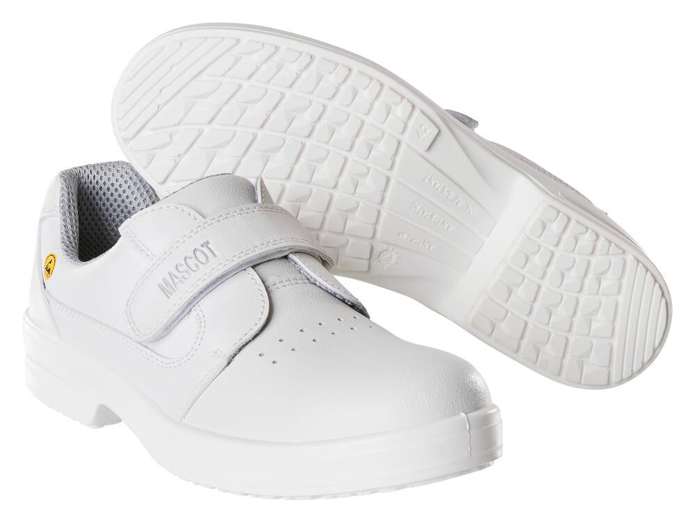 F0802-906-06 Veiligheidsschoenen (laag) - wit
