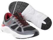 F0950-909-A84 Sneakers - zwart/donkerantraciet/rood